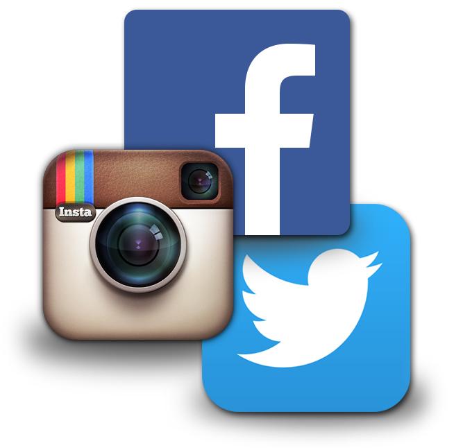 Presencia en las redes sociales