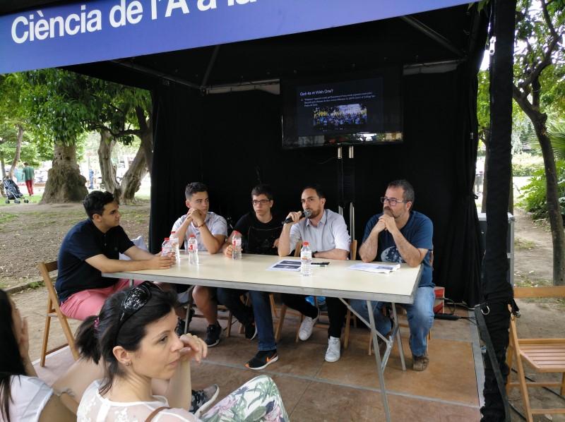 El Wish One Project a la Fira de la Ciència de Barcelona
