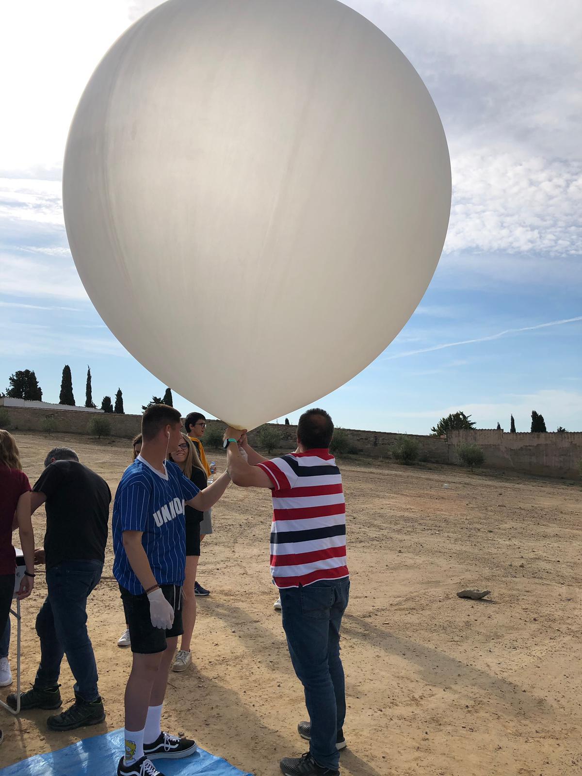 SAFA Space Project enviat i recuperat
