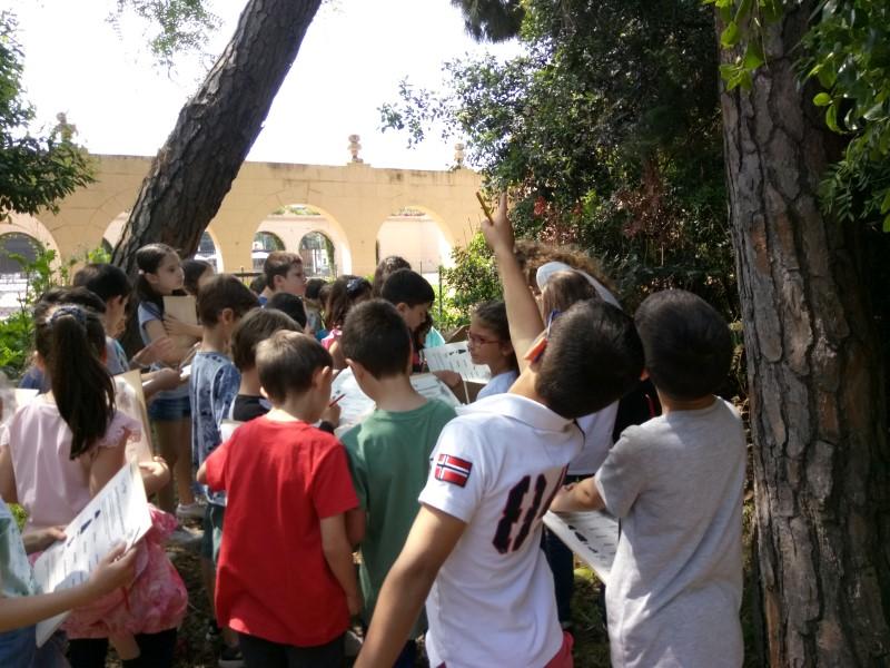 Visita al Jardí Botànic de 2n Primària