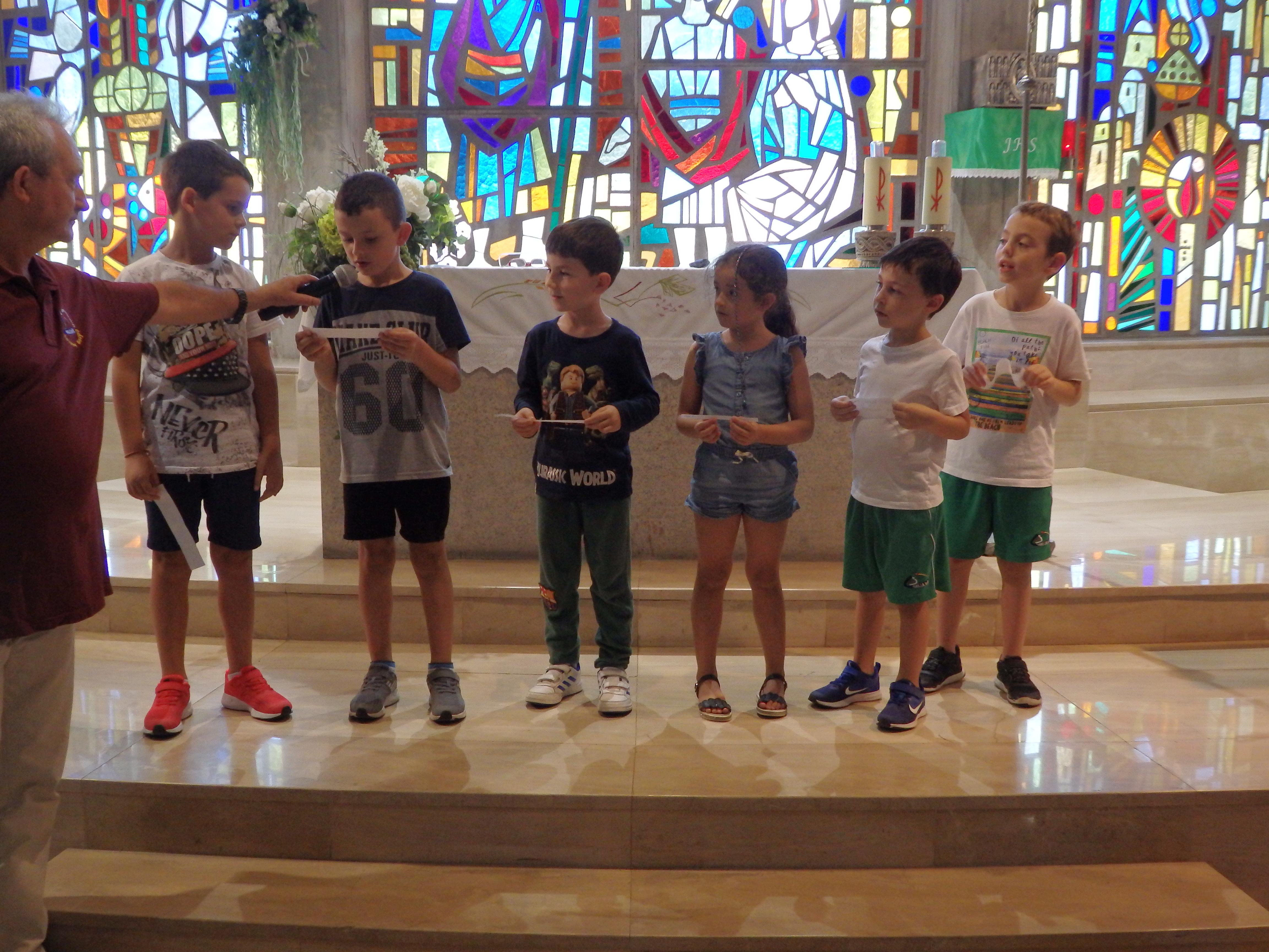 Eucaristía Ciclo Inicial