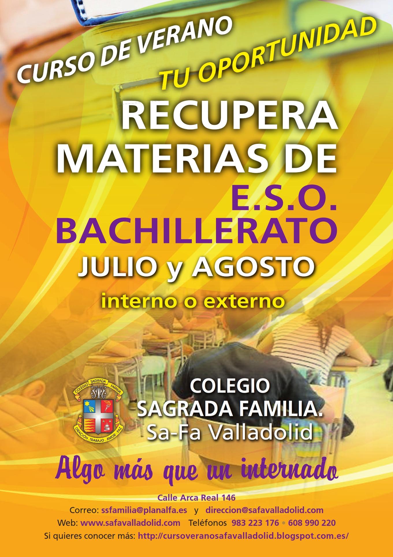 Curso de verano Sa-Fa Valladolid