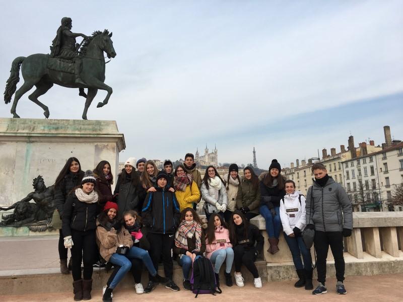 Intercanvi amb l'escola Safa a Lyon